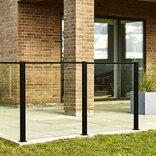 Elmholm glas t/systemhegn klar glas 95x86,6 cm