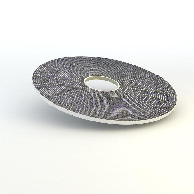 Cembrit PVC skumstrimmel hvid 4,5x9 mm 20 m