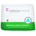 Aalborg Portland basis cement styrke 52,5 - 25 kg. ~