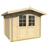 Bibertal 28A hytte 5,49 m² m/dobbeltdør