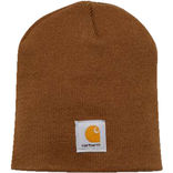 Carhartt hue acrylic knit hat - Brown