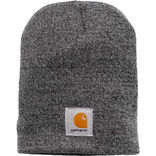 Carhartt hue acrylic knit hat - Grey/coal