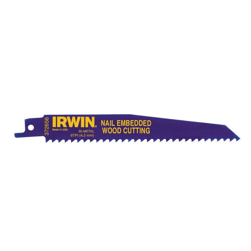 Irwin 956R bajonetsavklinge træ m/søm 225 mm 25 stk
