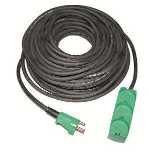 Jo-el Neopren Kabelsæt 25 M M/3-vejs Stikdåse M/jord Ip20
