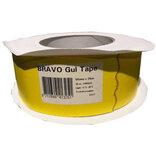 Bravo papir dampspærretape gul 50 mm x25 m ~