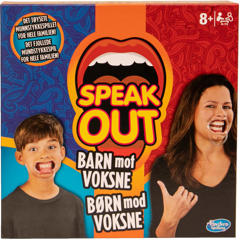 Speak Out Brætspil