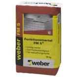 Weber FM5R funktionsmørtel ufarvet 25 kg. ~