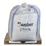 Weber 6,6% bakkemørtel 0-4 mm, 250 liter ~