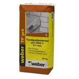 Weber tyndpudsmørtel, 25 kg, grå ~