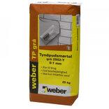 Weber tyndpudsmørtel 1002-Y, 25 kg, hvid ~