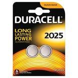Duracell Electronics knapcell batteri CR2025 2 stk.
