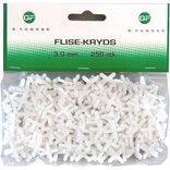 GF flisekryds 3 mm 250 stk