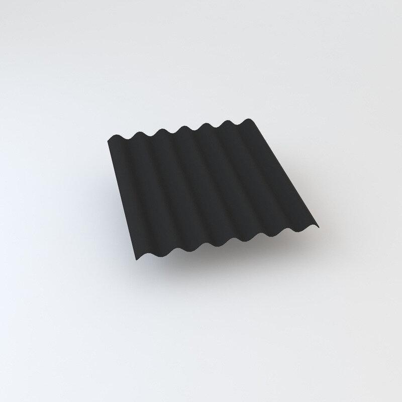 Cembrit bølgeplade B9-S Max FK sortblå 1167 x 1180 mm~