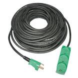 Jo-el neopren kabelsæt 15 m m/3-vejs stikdåse m/jord IP20