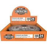 CMT savklinge Contractor 160x2,2x20 Z24W 10 stk. pakke