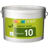 Dyrup Robust væg akryl 10 - råhvid - 10 L
