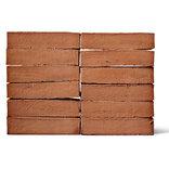 Egernsund-Tegl facade mursten 2.2.07 blød strøgen rød ~