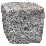 Granit chaussésten 9x9x8 cm grå