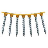 Spit P-Screw W gipsskrue t/træ på bånd 3,9x32 mm elforzinket 1000 stk.