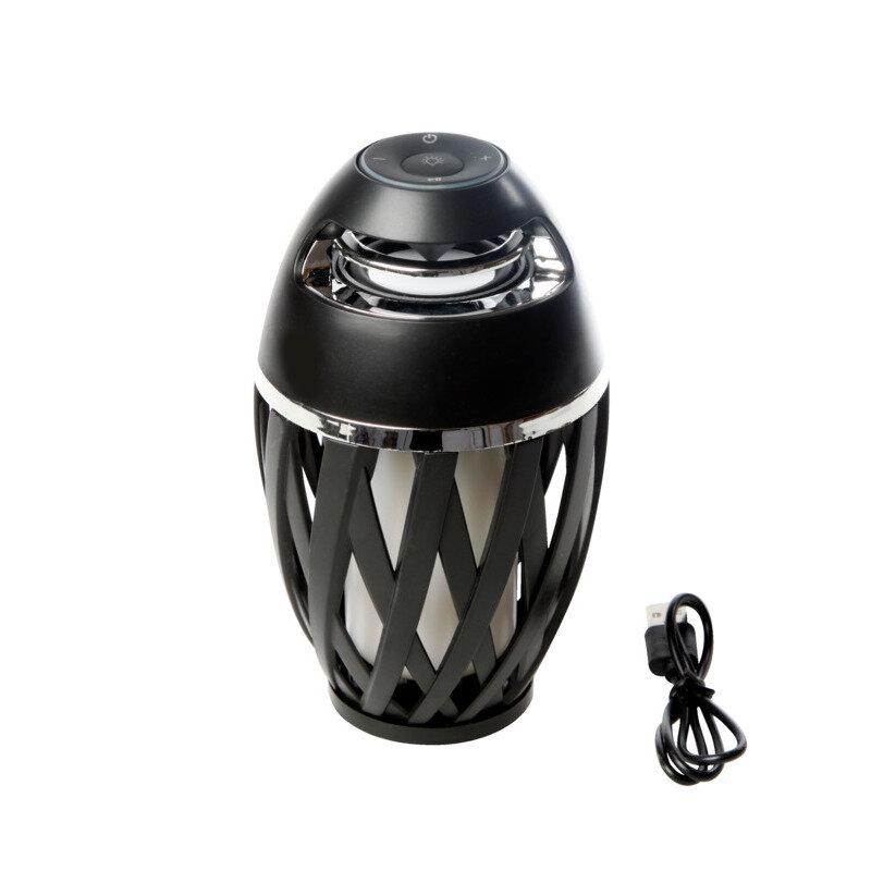 Bluetooth højtaler med 60 led og flammeeffekt
