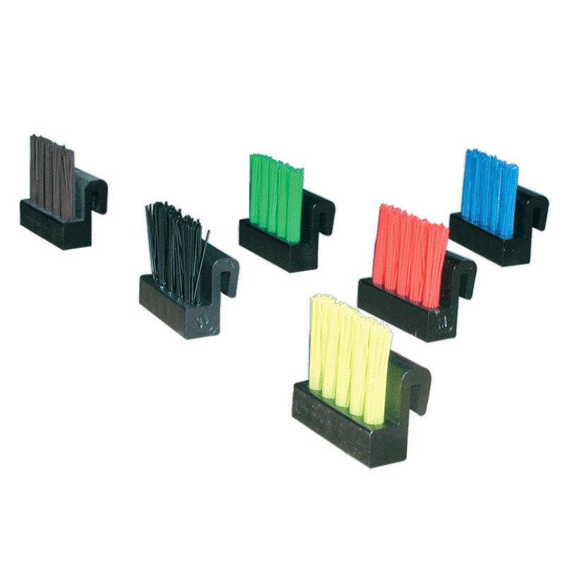 Billede af Clean Carpet børstesæt til trinrist sort 25 stk