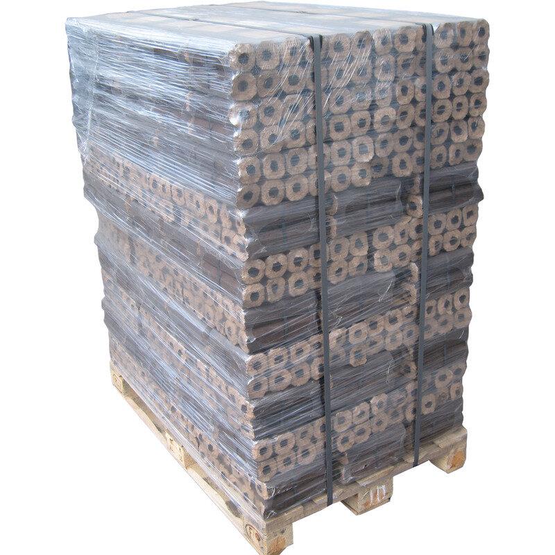 Billede af Pini Kay træbriketter 1 palle med 96 stk 10 kg pakker