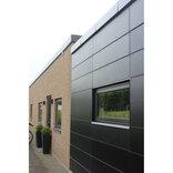 WallTec Frontline Duo UV+ HPL, facadeplade 6x1300x3050mm, sort/lysegrå ~