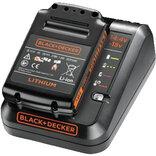 Black + Decker oplader med batteri