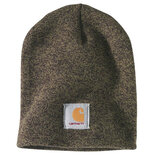 Carhartt hue acrylic knit hat - Military Olive/Black