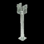 Paslode UR stolpebærer D120xH110xB90 L500 mm varmforz. ~