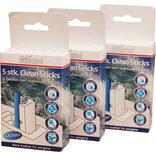 Minatol clean wc sticks 21 pakker m/ 5 stk