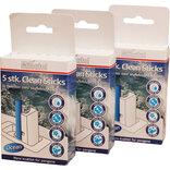 Minatol clean wc sticks 5 pakker m/ 5 stk