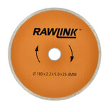 Diamantklinge rawlink orange Ø180 mm ø25,4 mm