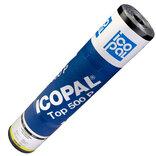 Icopal Top 500 P tagpap sort i rll. á 0,6x7,5m ~