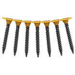 Spit P-Screw HS hårdgips skrue t/stål på bånd 3,9x41 mm sort forzinket 1000 stk.