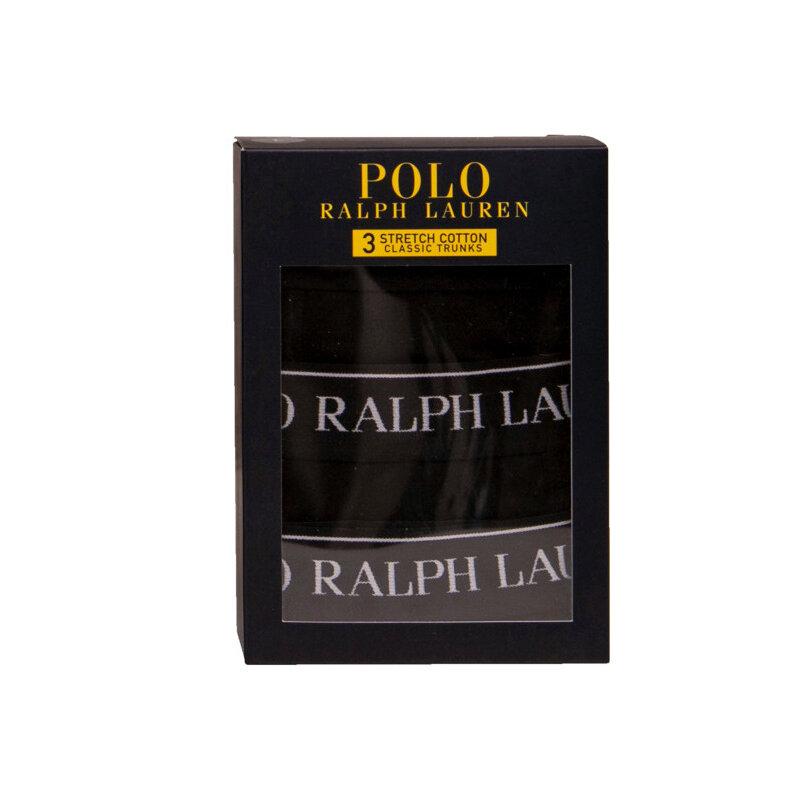 Ralph Lauren Boxershorts 3 Pk. Str. S Sort
