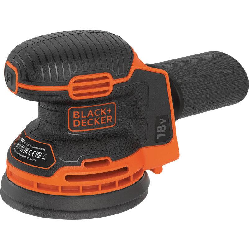 Billede af Black&Decker akku excentersliber Ø125 mm 18V BDCRO18N-XJ (uden batteri og lader)
