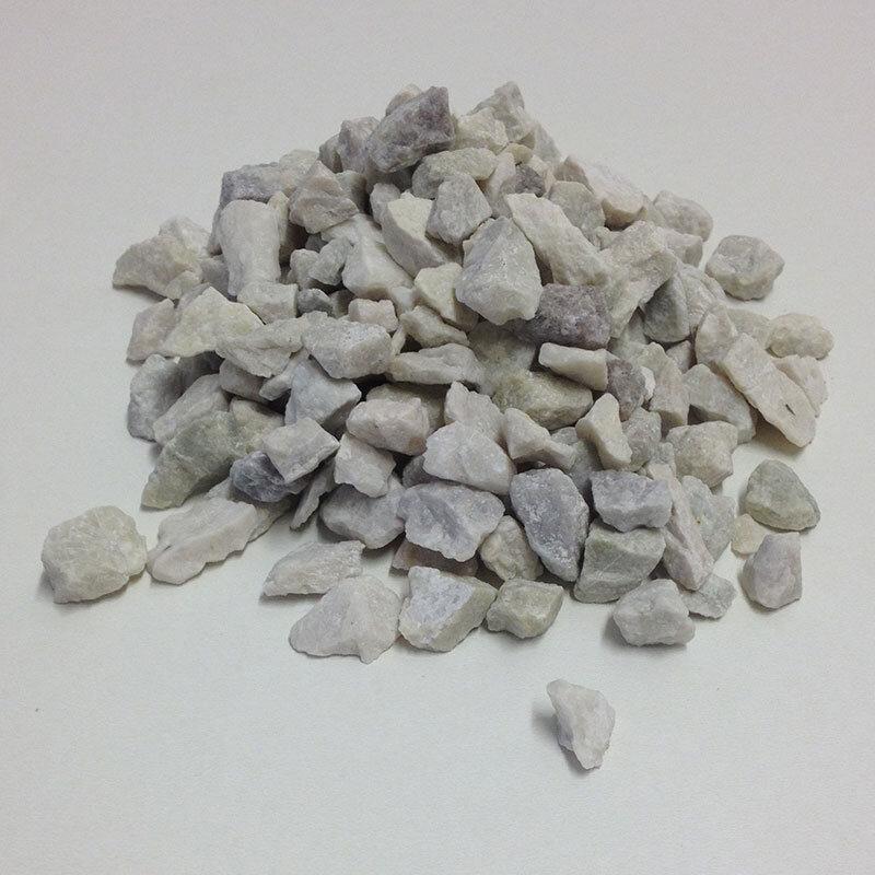 Billede af Hvide Granitskærver 8/11 Mm. Bigbag Med 1000 Kg.