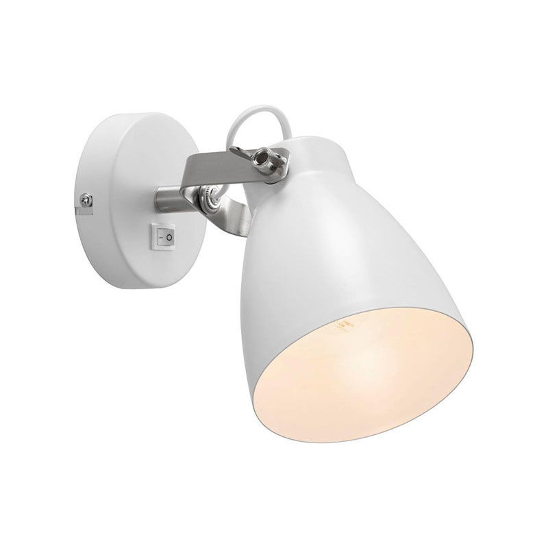 Nordlux Largo Væglampe E27 Hvid