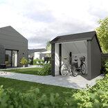 Plus cykelskur 6,5 m² ubehandlet ¤