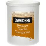 Davidsen Premium transparent vandbaseret træolie klar 0,75 L