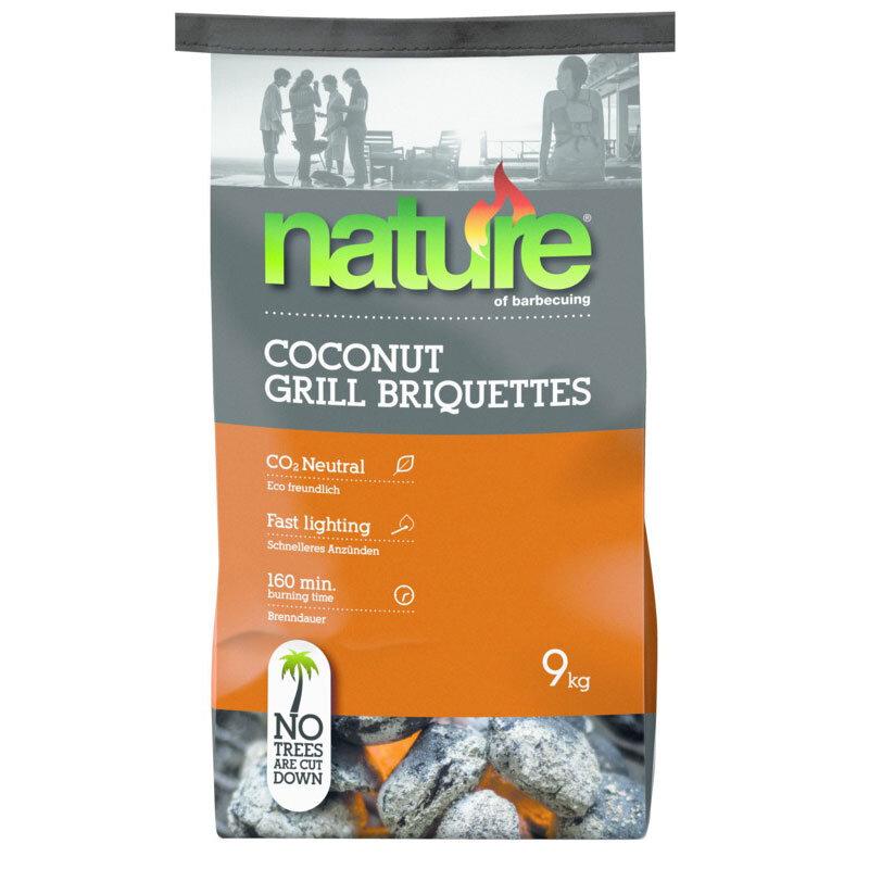 Billede af Nature Basic Coconut briketter 9 kg.