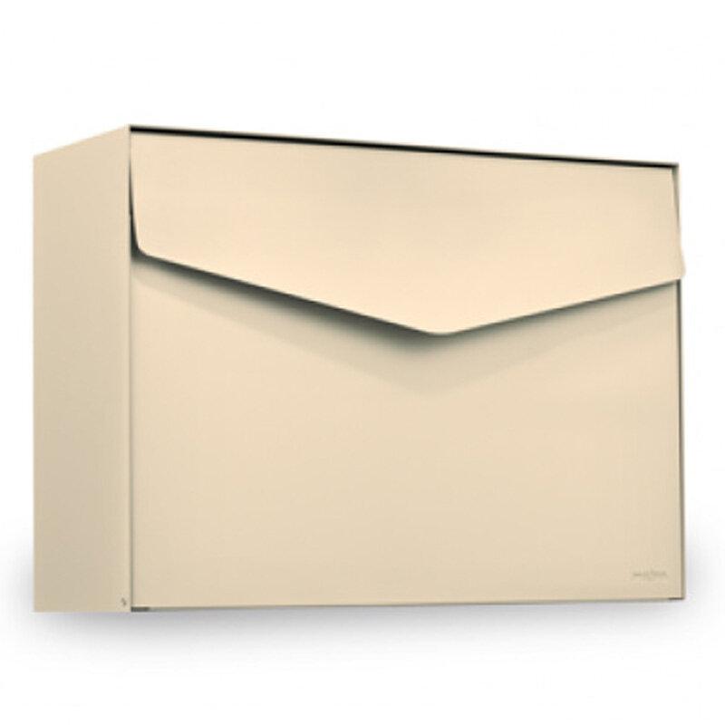 ME-FA postkasse Letter (111) elfenben med Ruko lås