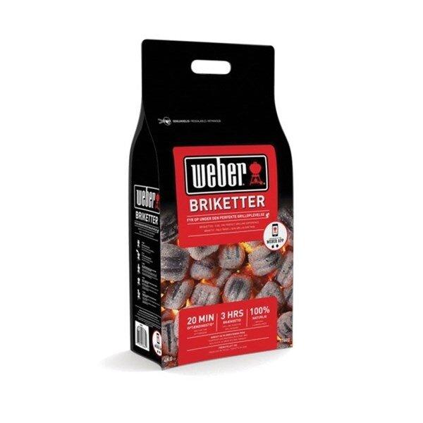 Billede af Weber® briketter - 8 kg.