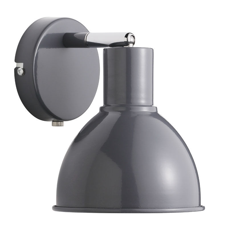 Nordlux Pop væglampe E27 - antracit