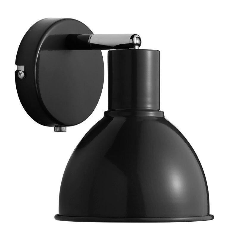 Nordlux Pop Væglampe E27 - Sort
