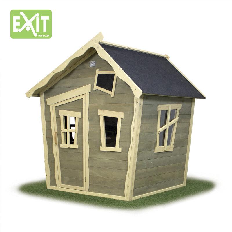 Exit Crooky 100 legehus brun/blå