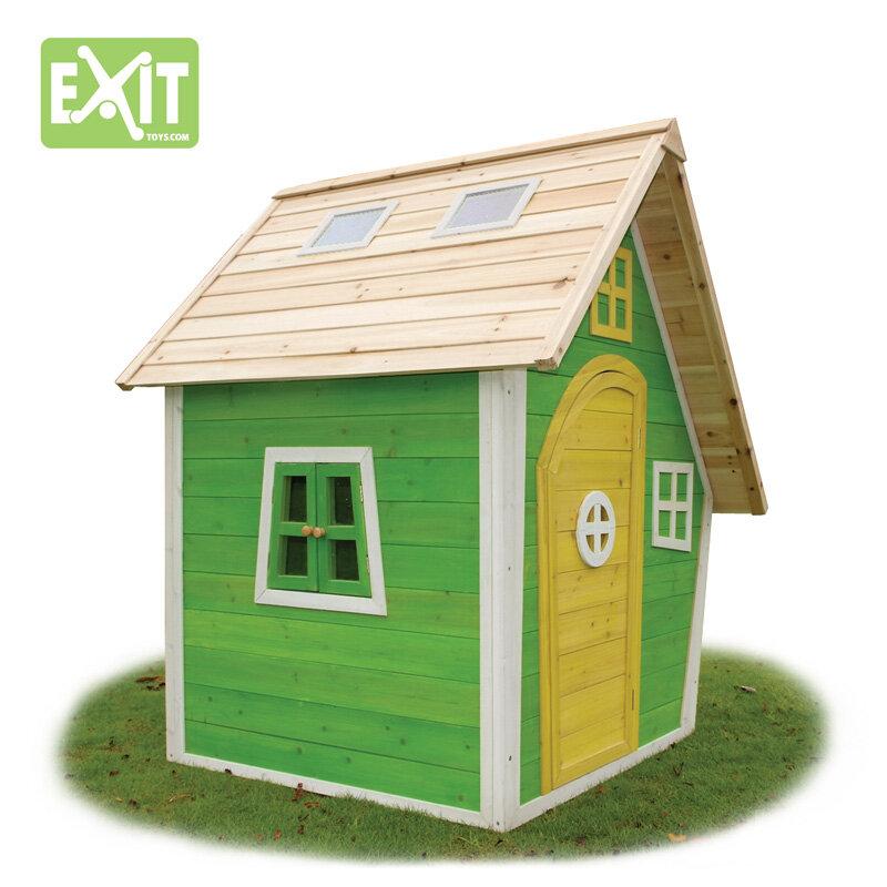 Exit Fantasia 100 grønt legehus 125x133x158 cm
