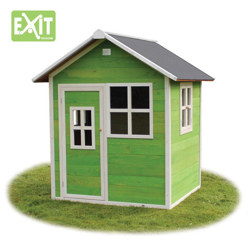 Exit Loft 100 legehus 140,5x149x160 cm grønt