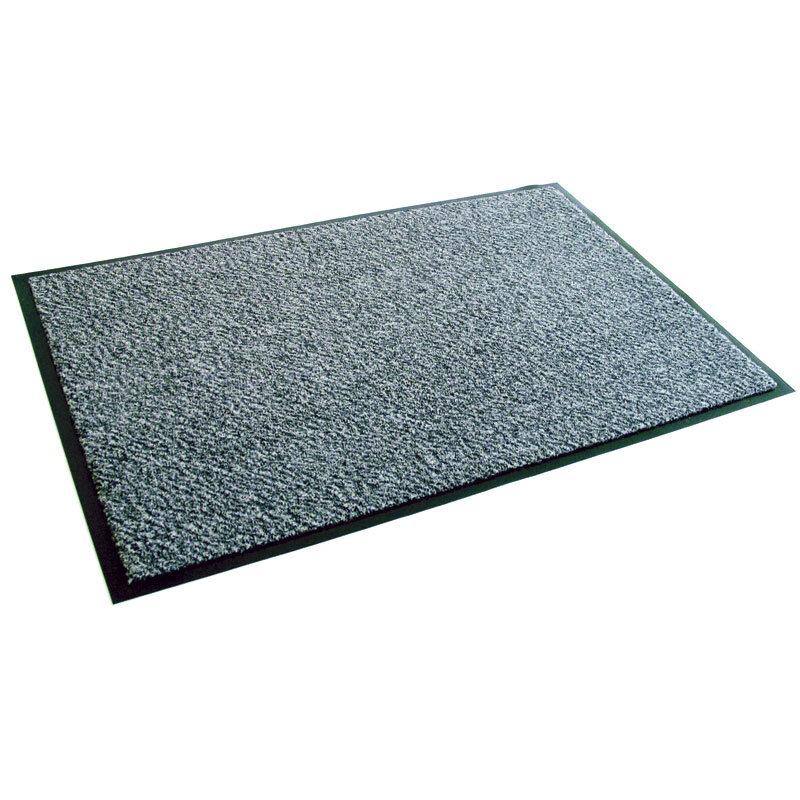 Billede af Clean Carpet dørmåtte 90 x 150 cm. - Lysgrå meleret